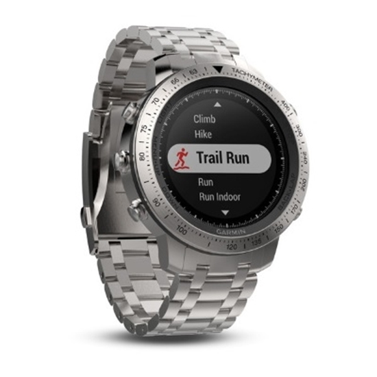 Picture of Garmin fenix® Chronos GPS Watch with Stainless Steel Band