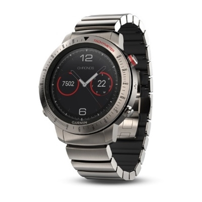 Picture of Garmin fenix® Chronos GPS Watch with Titanium Hybrid Band
