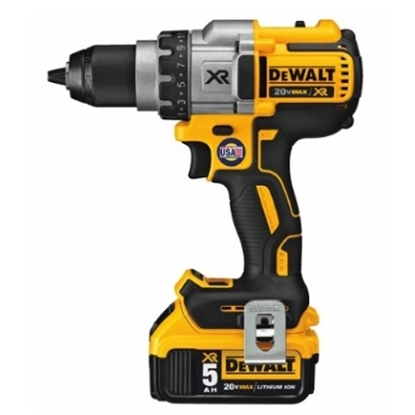 Picture of Dewalt 20V MAX* XR Lithium Ion Brushless Premium 3-Speed Drill