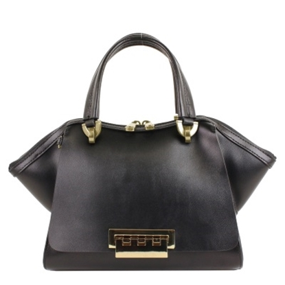 Picture of Zac Posen Eartha Iconic Small Double Handle Satchel - Black