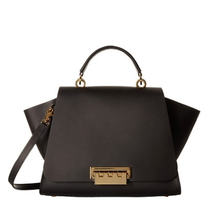 Picture of Zac Posen Eartha Iconic Soft Top Handle Bag - Black