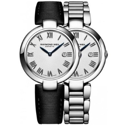 Picture of Raymond Weil Ladies' Shine Stainless Steel Watch w/ White Dial