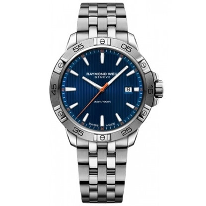 Picture of Raymond Weil Tango 300 Stainless Steel Watch with Blue Dial