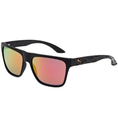 Picture of Puma Men's Rectangular/Square Sunglasses - Black/Orange