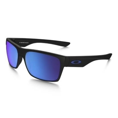 Picture of Oakley TwoFace Polarized - Matte Black/Sapphire Iridium