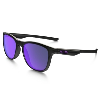 Picture of Oakley Trillbe X Polarized - Polished Black Ink/Violet Iridium