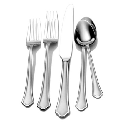 Picture of International Home Silver Capri Frost 51-Piece Flatware Set