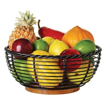 Picture of Mikasa Gourmet Basics Rope Round Fruit Basket