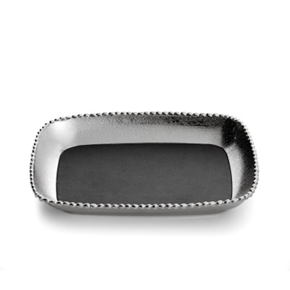 Picture of Michael Aram Molten Frost Vanity Tray