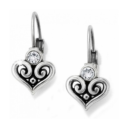 Picture of Brighton Alcazar Heart Leverback Earrings