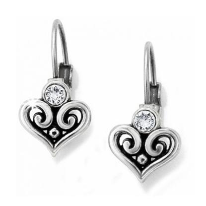 Picture of Brighton Alcazar Heart Leverback Earrings