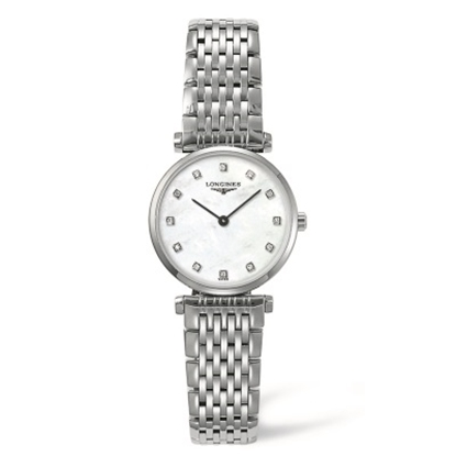 Picture of Longines La Grande Stainless Steel Ladies' Watch with MOP Dial