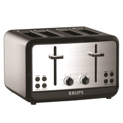 Picture of KRUPS Savoy Stainless Steel 4-Slice Toaster