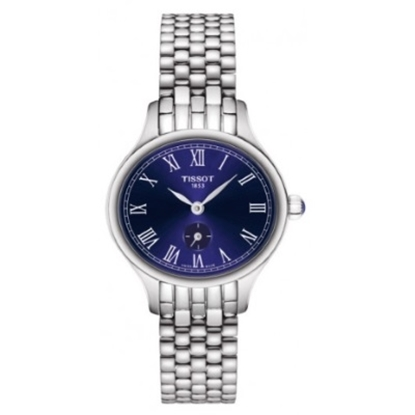 Picture of Tissot Bella Ora Stainless Steel Ladies' Watch with Blue Dial