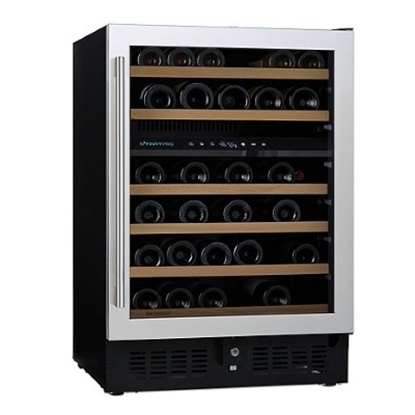 Picture of Wine Enthusiast N'FINITY PRO S 46-Bottle Dual Zone Wine Cellar