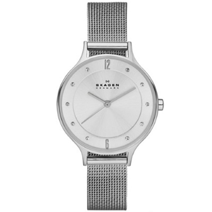 Picture of Skagen Ladies' Anita Steel Mesh Watch with Sunburst Dial