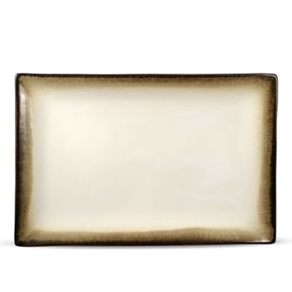 Picture of Pfaltzgraff 14x9'' Rectangular Platter - Lunar Green