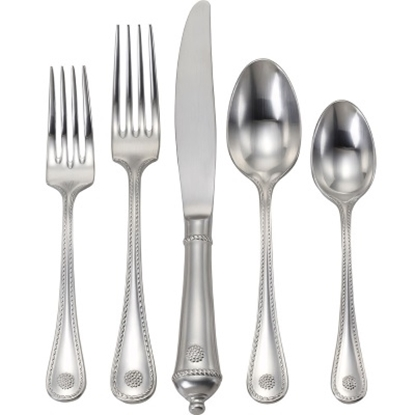 Picture of Juliska Berry & Thread Bright Satin 5-Piece Flatware Set