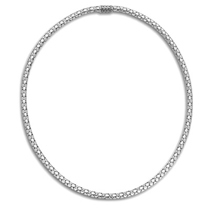 Picture of John Hardy Dot Silver Slim Chain Necklace