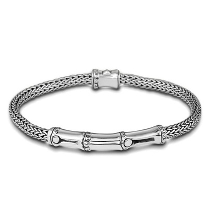 Picture of John Hardy Bamboo Station Bracelet - Silver