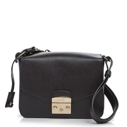 Picture of Furla Metropolis Small Shoulder Bag - Onyx