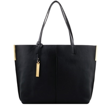 Picture of Vince Camuto Wylie Tote - Black/Oak