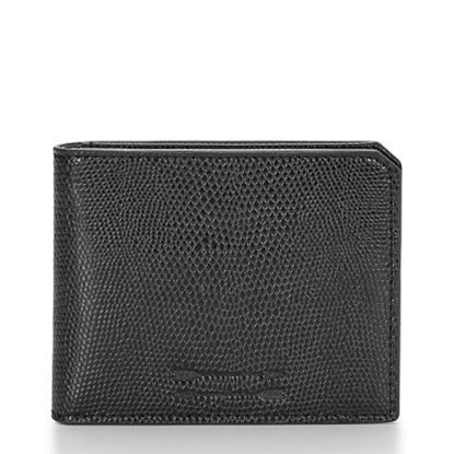 Picture of Uri Minkoff Vesper Wallet - Black Lizard Embossed