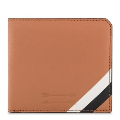 Picture of Uri Minkoff Vesper Wallet  - Almond with Ecru/Black Stripe