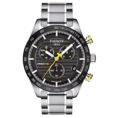 Picture of Tissot T-Sport Quartz Stainless Steel Chrono with Black Dial