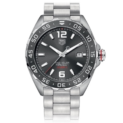 Picture of TAG Heuer Formula 1 Auto Stainless Steel Watch with Grey Dial