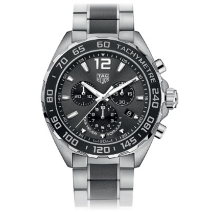 Picture of TAG Heuer Formula 1 43mm Quartz Chrono with Anthracite Dial