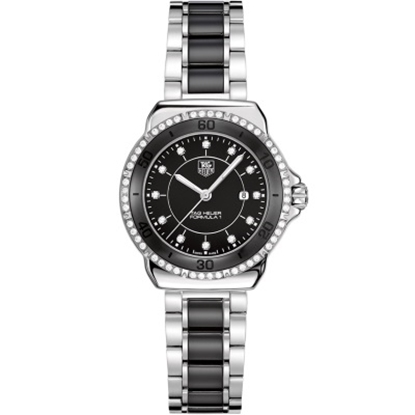 Picture of TAG Heuer Formula 1 32mm Quartz Ceramic Watch with Black Dial