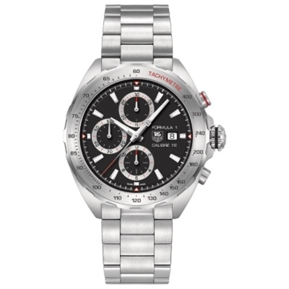 Picture of TAG Heuer Formula 1 44mm Chrono Watch with Black Dial