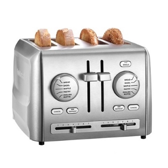 Picture of Cuisinart® Custom Select 4-Slice Stainless Steel Toaster