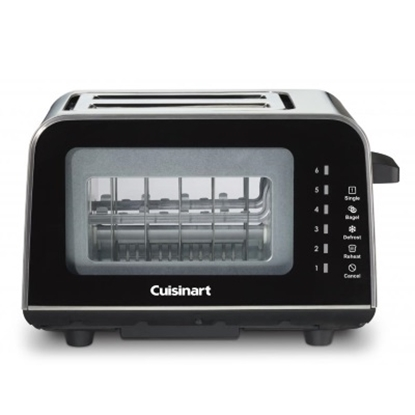 Picture of Cuisinart® ViewPro® 2-Slice Toaster - Black/Stainless