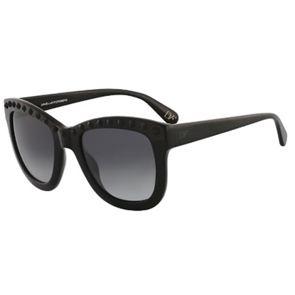 Picture of DVF Haley Sunglasses - Black with Black Studs