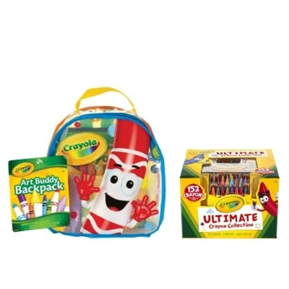 Picture of Crayola® Art Buddy Backpack & Crayon Set