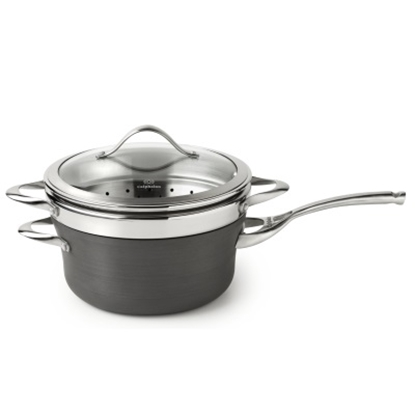 Picture of Calphalon Contemporary Nonstick 4.5-Qt. Sauce Pan with Steamer