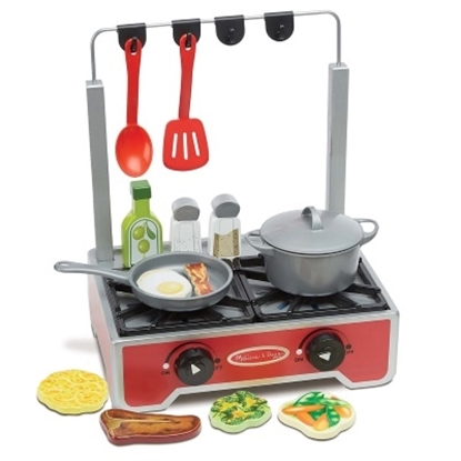 Picture of Melissa & Doug® Deluxe Wooden Cooktop Set