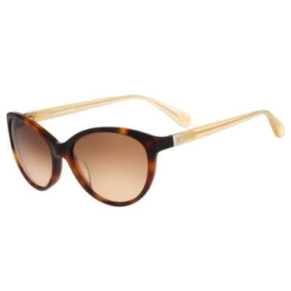 Picture of DVF Blair Cat Eye Sunglasses - Soft Tortoise