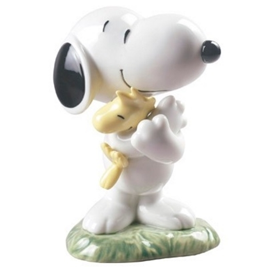 e7cb5c477 MileagePlus Merchandise Awards. Lladro® Nao Snoopy and Woodstock