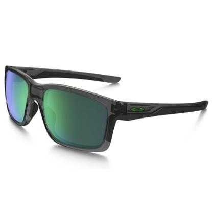 Picture of Oakley Mainlink Sunglasses - Grey Smoke/Jade Iridium