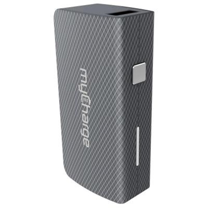 Picture of MyCharge AmpPlus 4400mAh Portable Charger with USB - Black