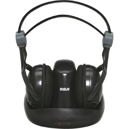 Picture of RCA Wireless 900MHz Full-Size Headphones - Black