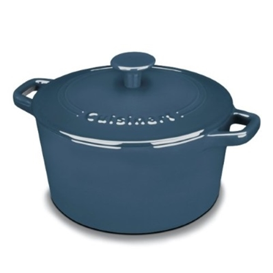 Picture of Cuisinart® Enameled Cast Iron 3-Qt. Casserole - Blue