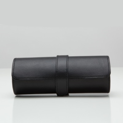 Picture of Wolf Designs Blake Watch Roll - Black