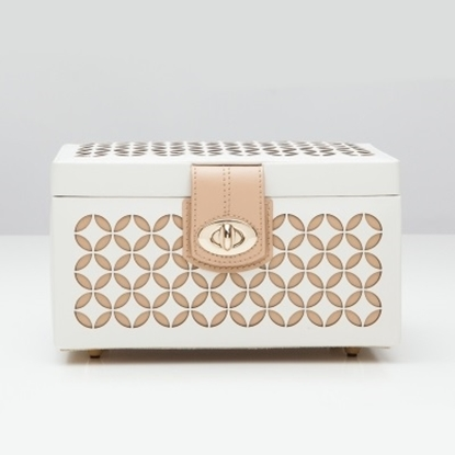 Picture of WOLF Chloé Small Jewelry Box - Cream