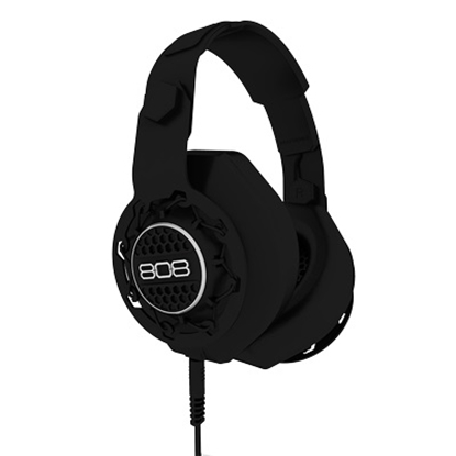 Picture of 808 Performer Over-Ear DJ Style Headphones - Black