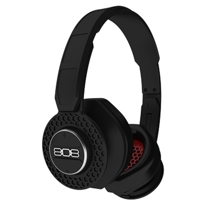Picture of 808 SHOX Bluetooth® On-Ear Headphones - Black