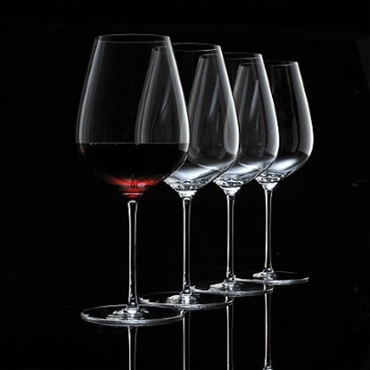 Picture of Wine Enthusiast Fusion Air Bordeaux Wine Glasses - Set of 4
